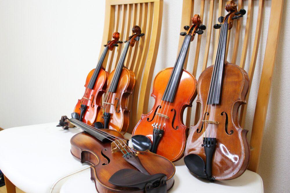 体験用レンタルバイオリン